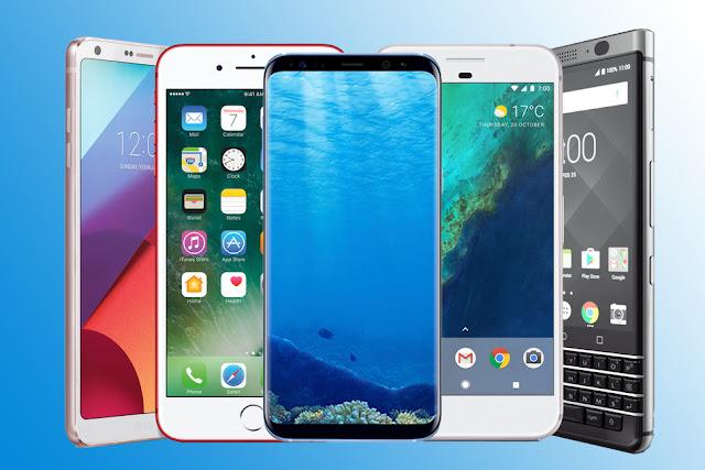 10 Smartphone Terbaik Saat Ini