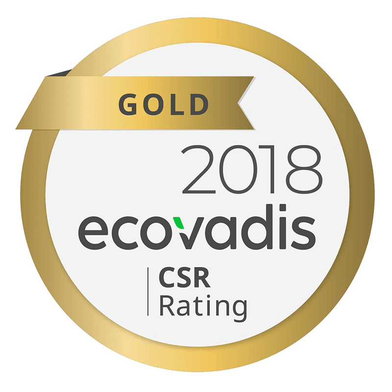 Epson wins EcoVadis Gold Rating for overall sustainability