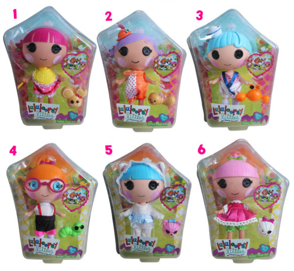 Dolls, Clothing & Accessories Lalaloopsy Littles Doll Bundle Used