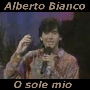 testi e accordi, letra y acordes de Alberto Bianco - O sole mio