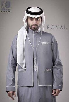 baju gamis mewah untuk para pria arab
