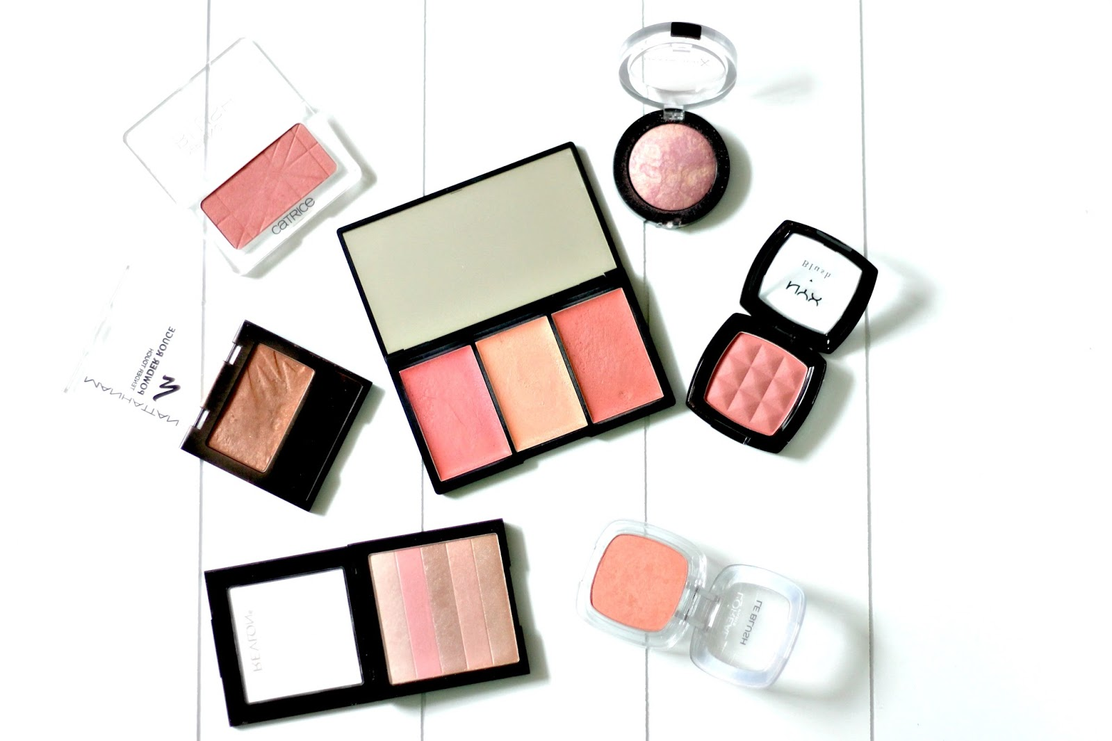 The Blush Tag || Manhattan, Sleek, L´Oreal, MaxFactor, Catrice, NYX, Revlon