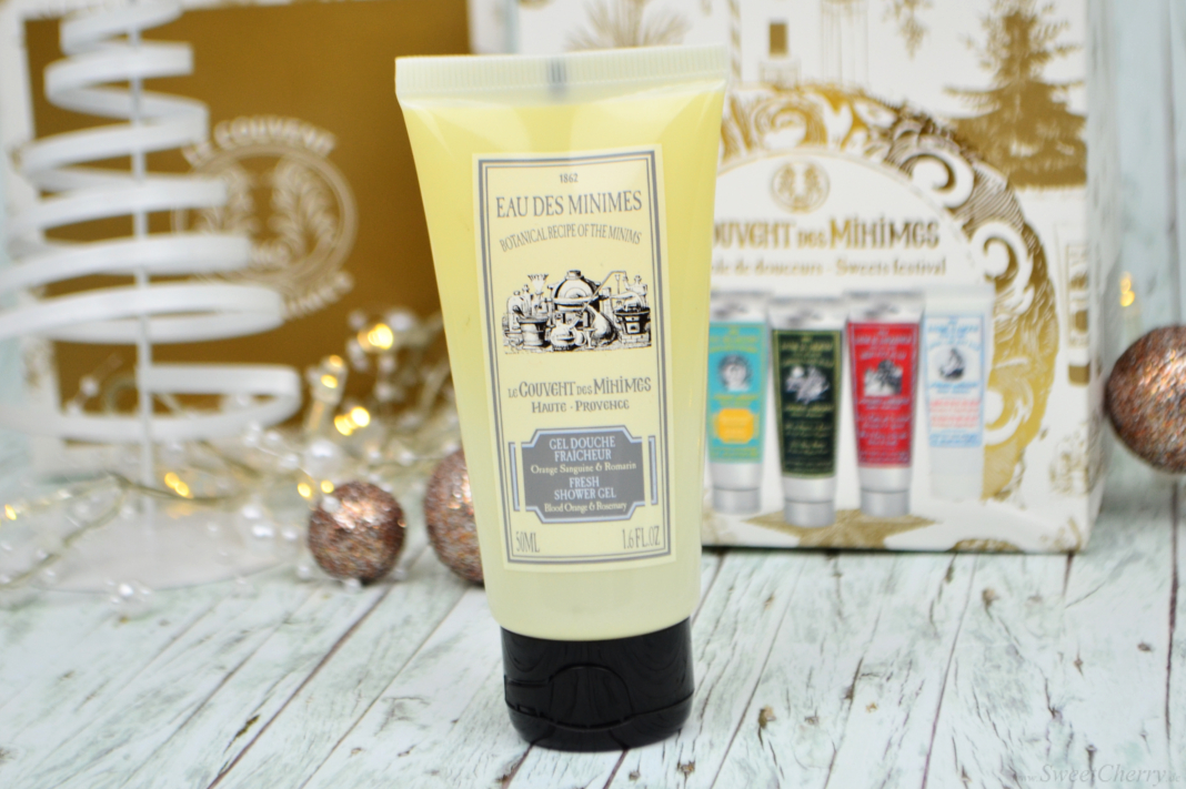 Le Couvent des Minimes Fresh Shower Gel Blutorange & Rosmarien