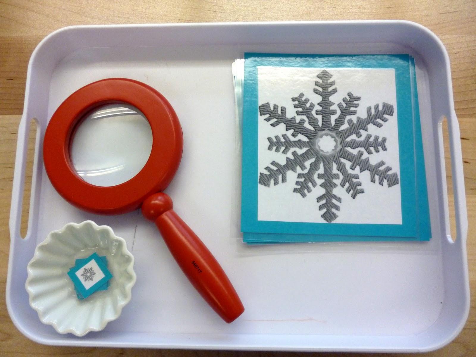 Spilt Milk Winter Montessori Style