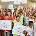 Alunos participam da abertura da Copa Ceará Pacífico no Vicente Pinzon