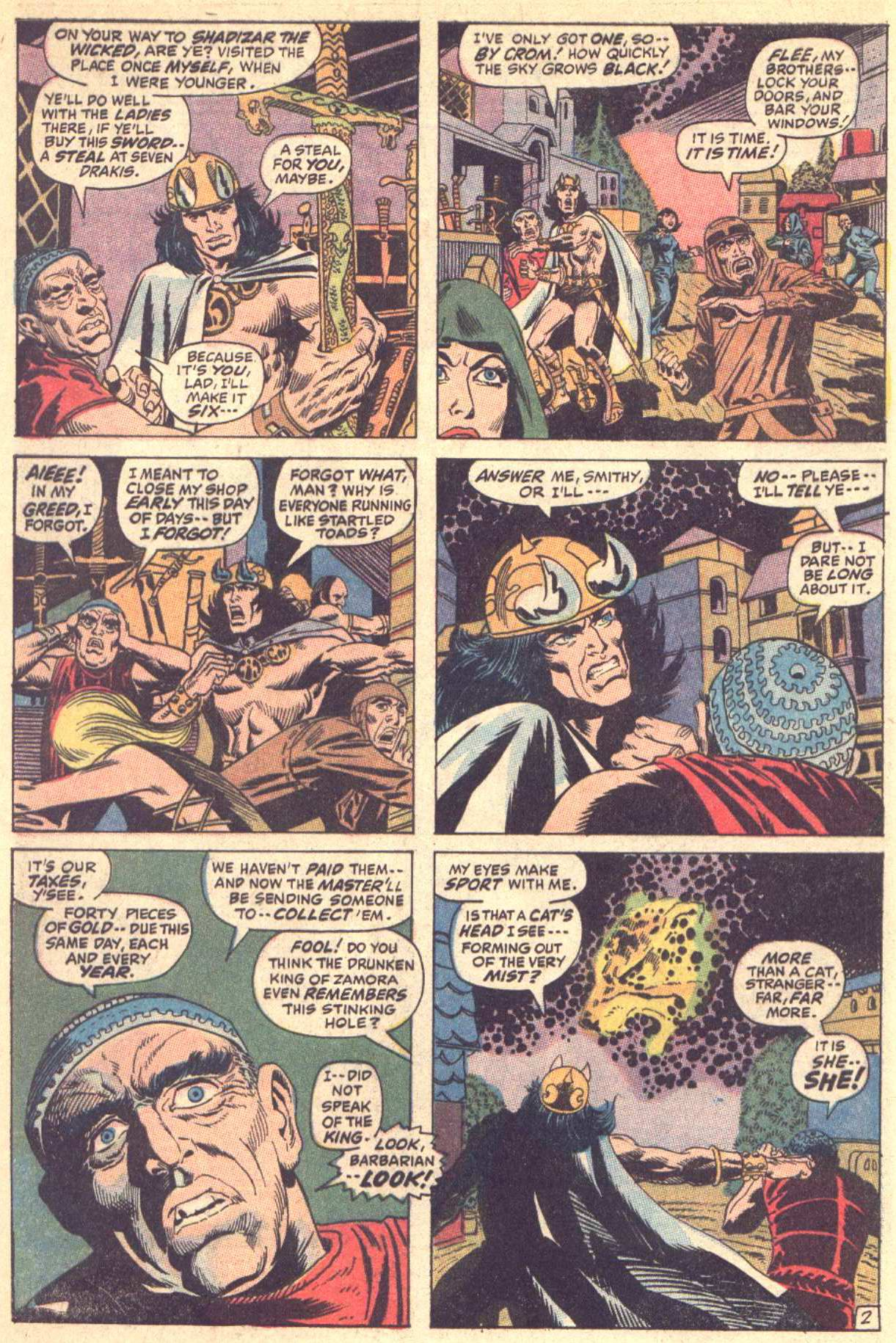 Conan the Barbarian (1970) Issue #5 #17 - English 3