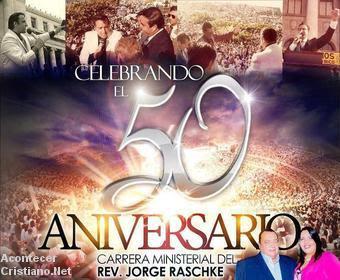 Celebraran 50 años de trayectoria ministerial de Jorge Raschke