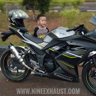 knalpot racing , knalpot racing kawasaki ninja 250 , knalpot original