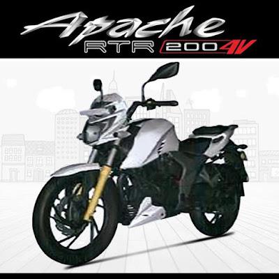 TVS Apache RTR 200 4V Hd Image