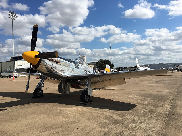 No airshow is complete without the iconic P-51 Mustang