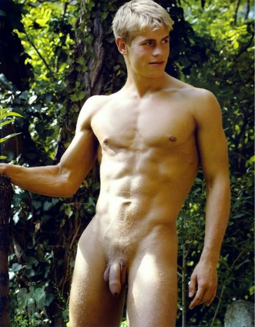 Men Blonde Hot Naked#7