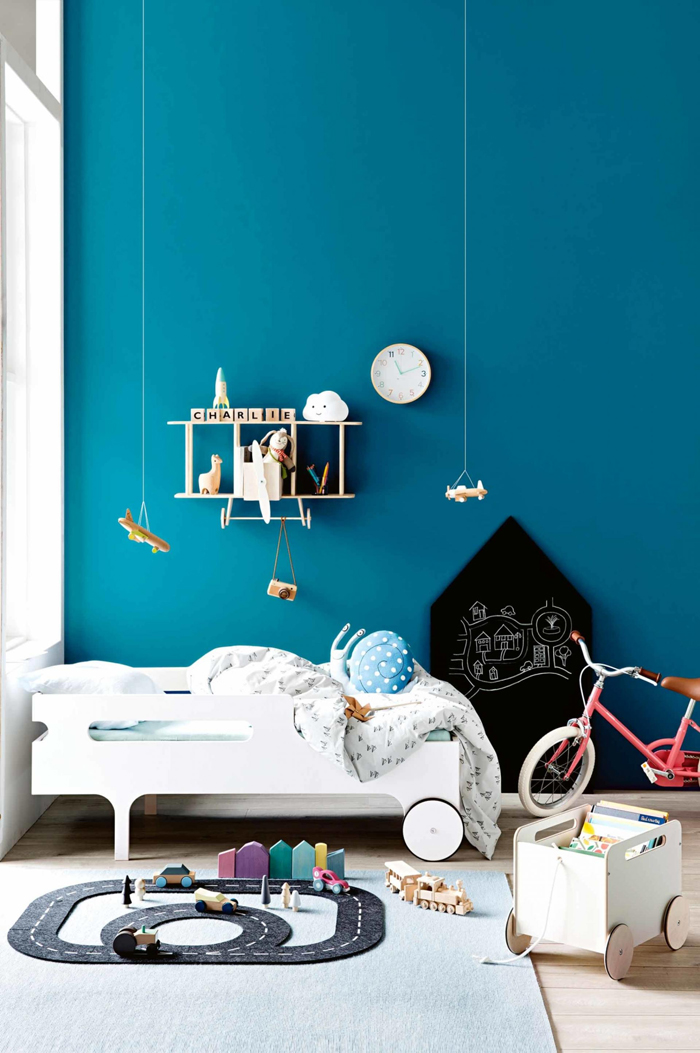 R toddler bed from Rafa-kids in Inside Out magazine - Australia