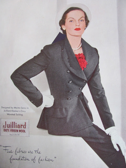 40s womens suit
