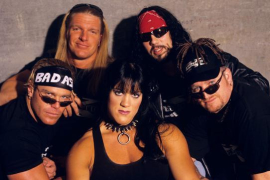 Triple H And Chyna With DX