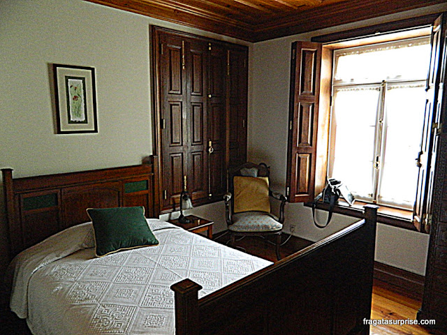 Quarto da hospedaria Casa São Faustino de Fridão, em Amarante
