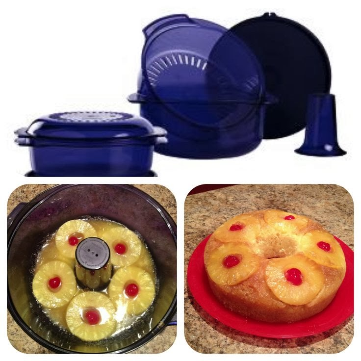 How To Make A Cake In Tupperware Stack Cooker