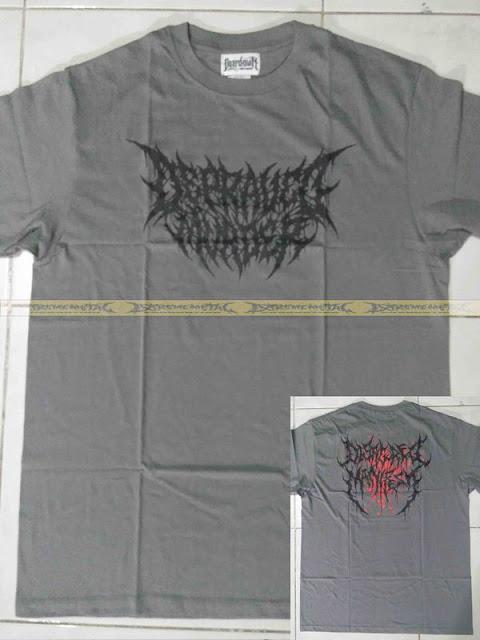 T-Shirt DEPRAVED MURDER - LOGO ( Grey )