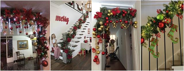 Hermosas guirnaldas navide as f ciles de hacer para decorar en navidad - Guirnaldas navidad manualidades ...