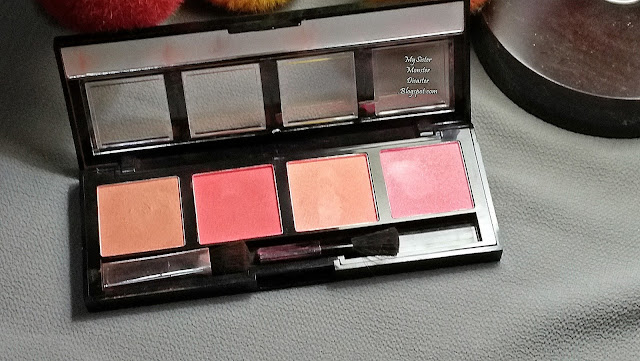 REVIEW: CITYCOLOR INTENSE BLUSH QUAD COLLECTION 2