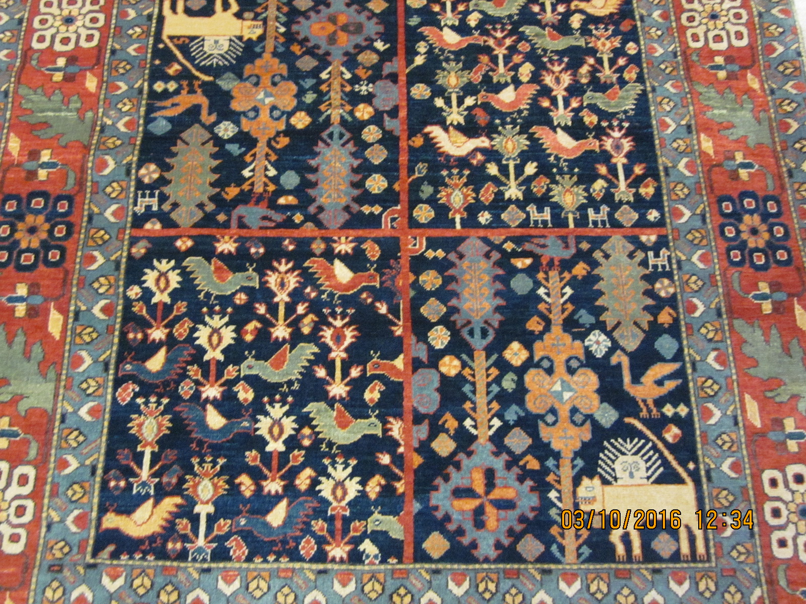 Video Of Afghan Rugs In Persian Tribal Designs Here S A Clue The First Three Photos Are Small Piece Qashqai Design