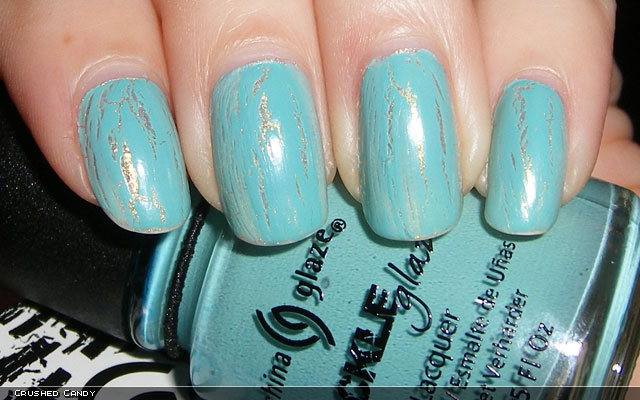 xoxoJen's swatch of China Glaze Crushed Candy