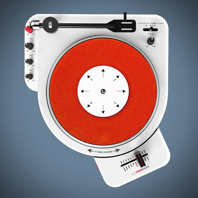 tragbarerer Scratch-Turntable - Gadget