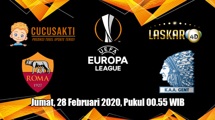 Prediksi Europa League Gent VS Roma 28 Februari 2020