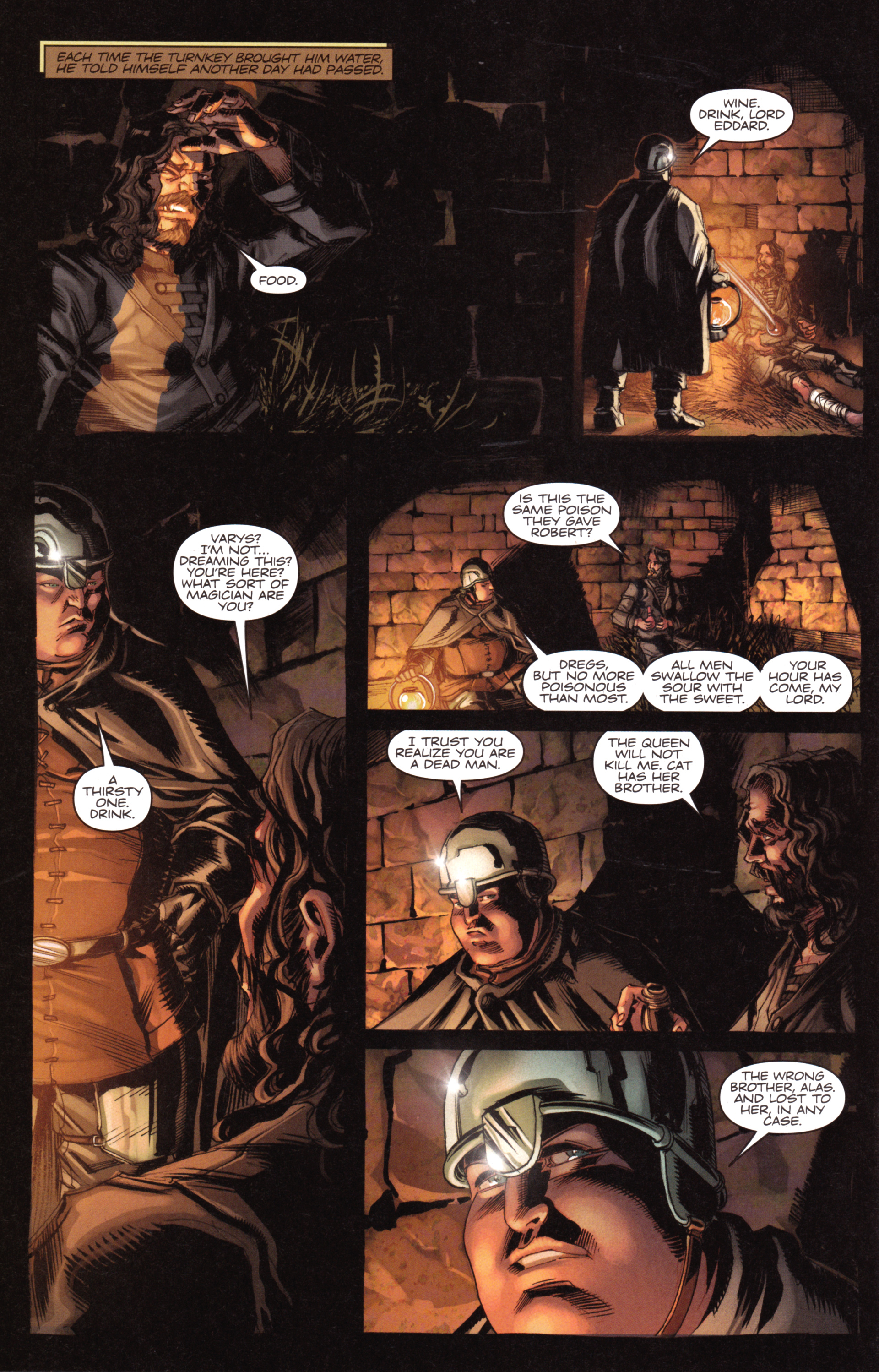 Read online A Game Of Thrones comic -  Issue #18 - 28