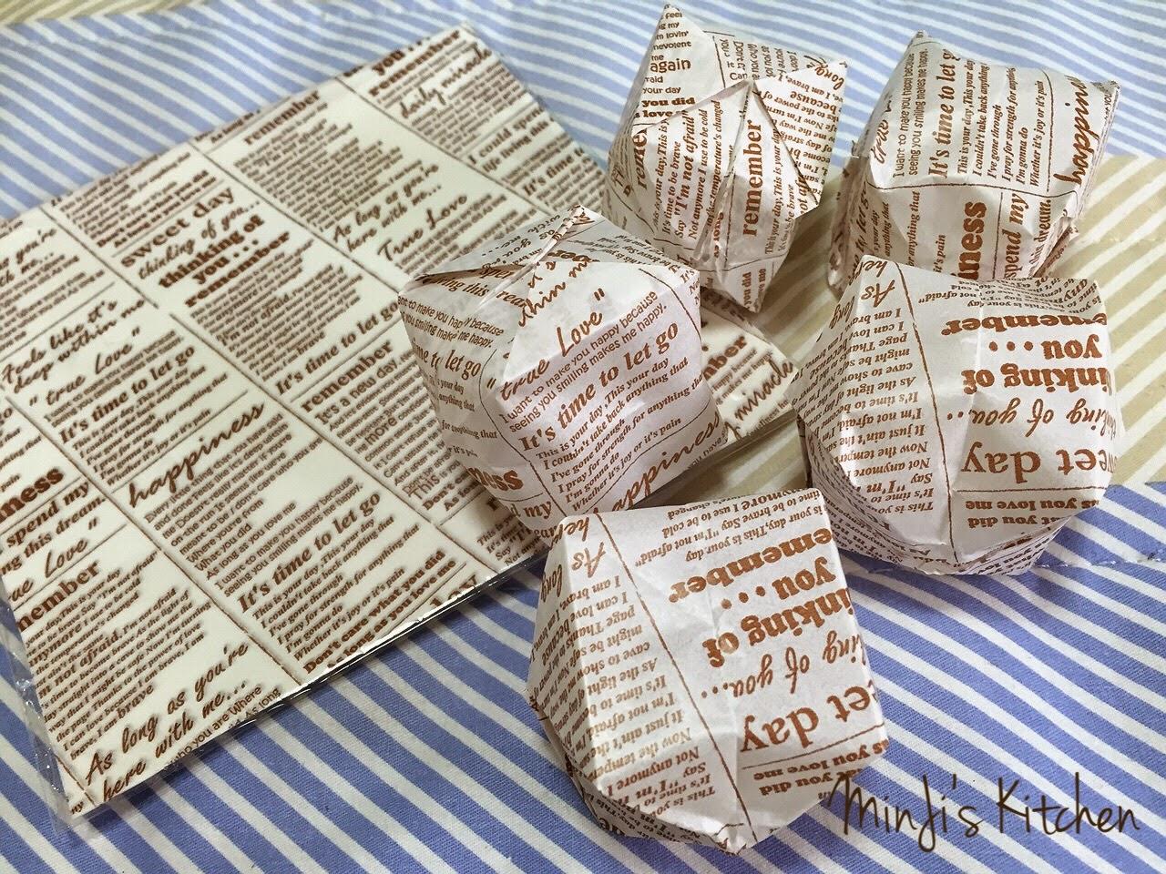 MinJi's Kitchen: Origami Water Bomb Cheese Cake おりがみ 風船 チーズケーキ - photo#6