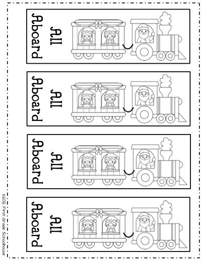 ticket coloring pages | Classroom Freebies Too: The Polar Express Bookmarks