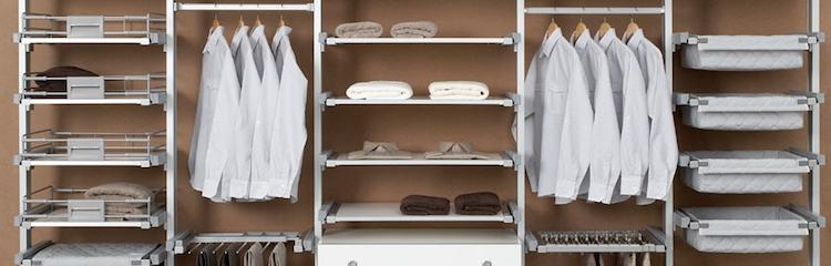 soluciones para armarios y vestidores