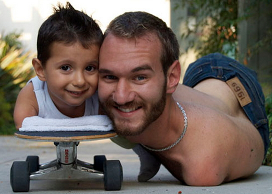 nick vujicic baby girl