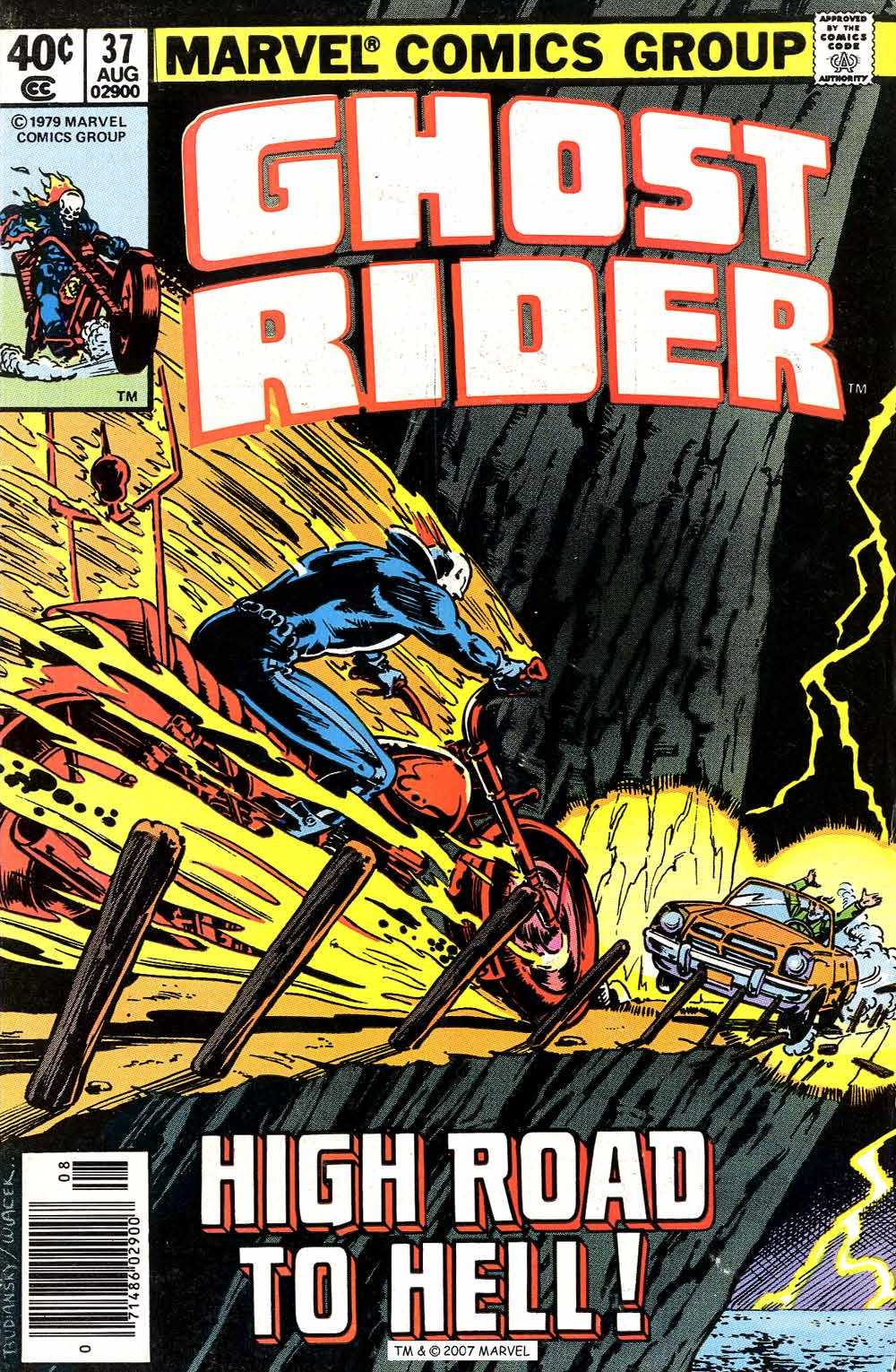 Ghost Rider (1973) issue 37 - Page 1