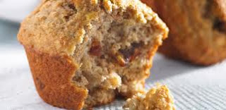 Banana walnut muffins are easy to make. My kid just love eating these muffins.