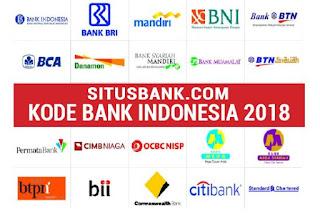 Daftar Kode Bank Indonesia 2018