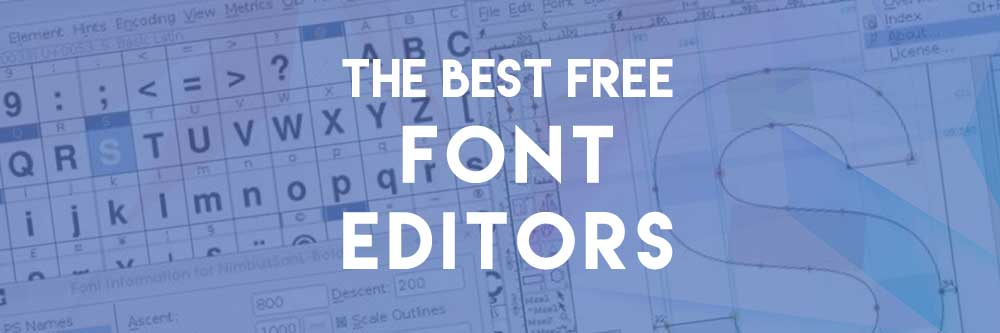 free font creation software