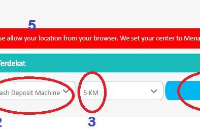 Cara Mengetahui Lokasi ATM Setor Tunai BCA yang Paling dekat