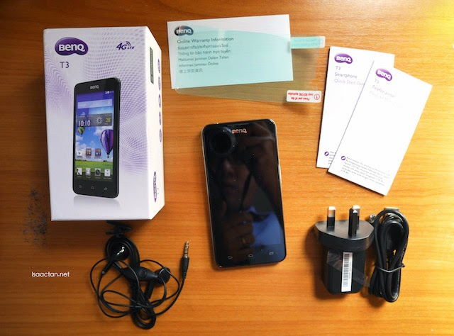 Unboxing the BenQ T3