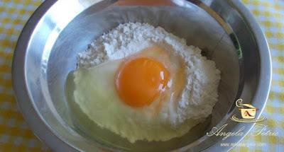 Preparare supa de mazare cu galuste-etapa 7