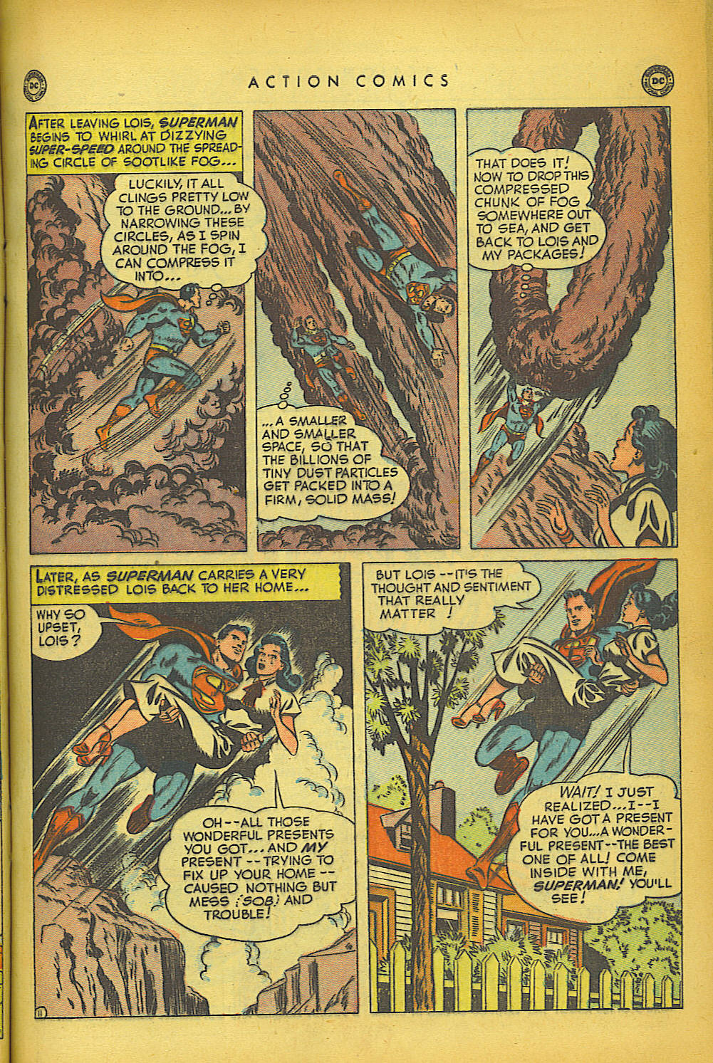 Read online Action Comics (1938) comic -  Issue #149 - 12