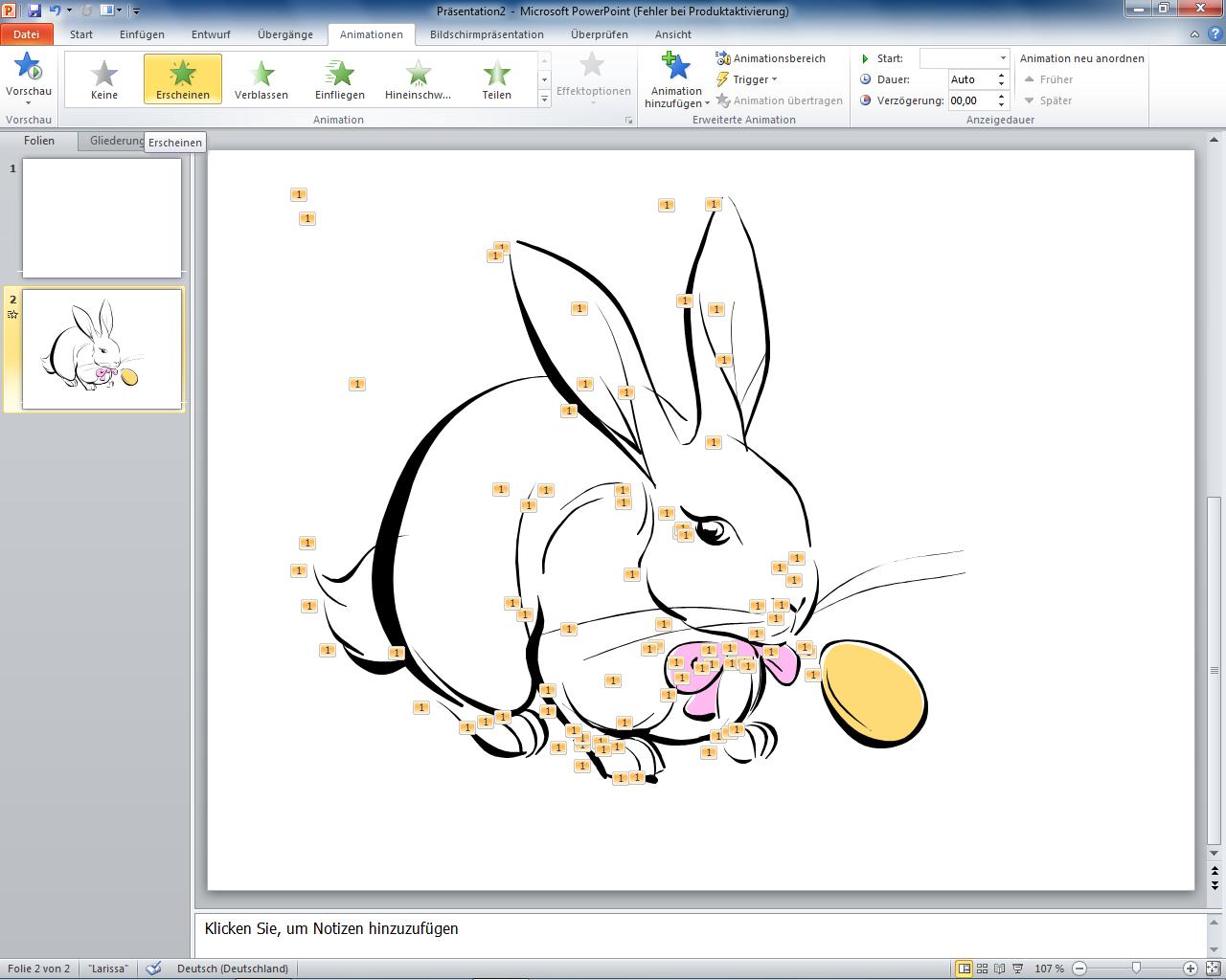 Peter's Tech-Blog: ClipArt Animationsfilm mit PowerPoint erstellen
