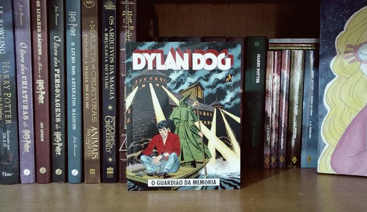 Imagem da HQ Dylan Dog: O guardião de memória
