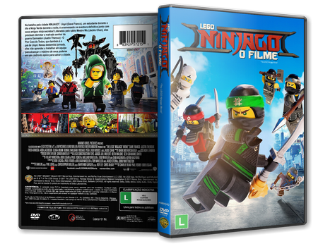 Capa DVD LEGO NINJAGO O Filme [Custom]