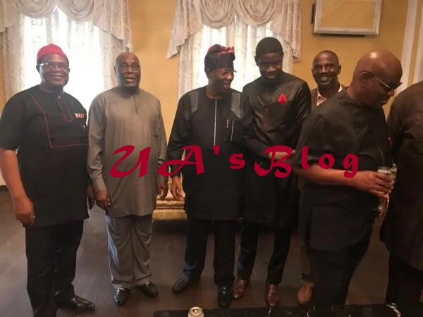Atiku flags off 2019 campaign, Wike, Daniel, Nwodo in attendance [PHOTO]