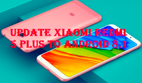 تفليش وتحديث جهاز شاومي Firmware Update Xiaomi Redmi 5 Plus