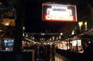 Mercado de Navidad de Edimburgo.