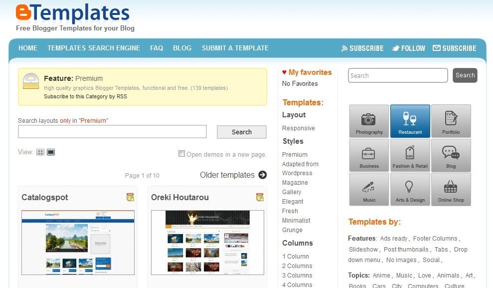 website, template, blog, penyedia, terbaik, konten
