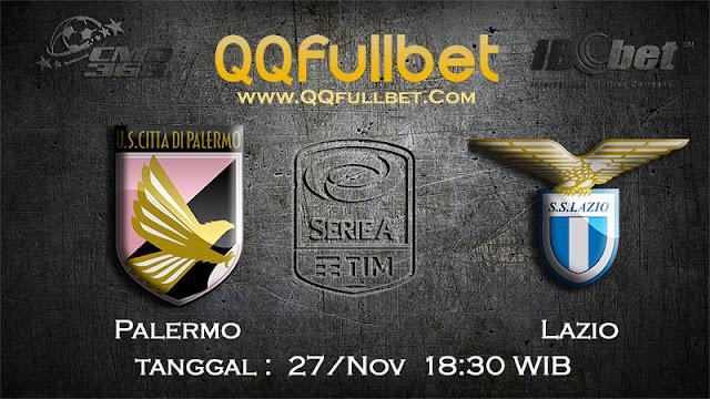 PREDIKSIBOLA - Prediksi Taruhan Bola Palermo vs Lazio 27 November 2016 (SERIE A Italia)