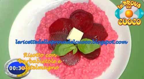 Risotto con barbabietole e castelmagno ricetta cristian for Cucinare barbabietole