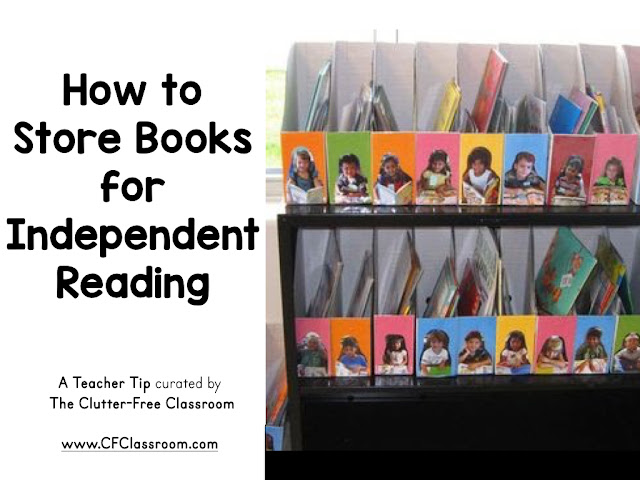 "This blog post shows one answer to the question, ""How do I organize students just right reading books?"""